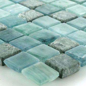 Glass natural stone 4-7mm