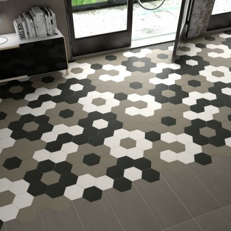 Floor Tiles Hexagon