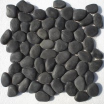 Mosaic Tiles Pebble Black