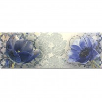 Elvas Wall Decor Tiles Flower