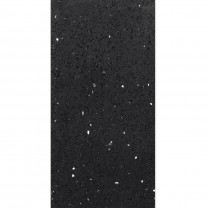Floor Tiles Quartz Composite Black 45x90cm