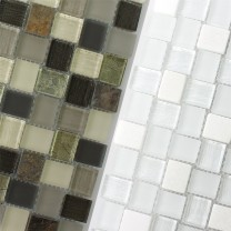 Mosaic Tiles Glass Natural Stone Ortega