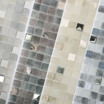 Mosaic Tiles Glass Natural Stone Mix Freyland