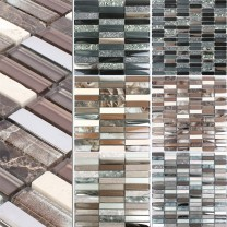 Mosaic Tiles Magia Glass Natural Stone Mix