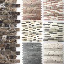 Mosaic Tiles Natural Stone Marble Bali Bricks
