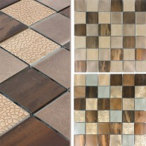Mosaic Tiles Aluminium Decor Ayolas