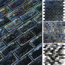 Glass Mosaic Petrol