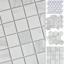Ceramic Mosaic Tiles Zyrus Carrara