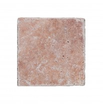 Natural Stone Tiles Travertine Usantos Rosso 30,5x30,5cm