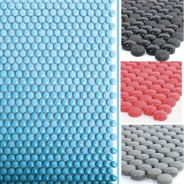 Glass Mosaic Tiles Bonbon Round Eco