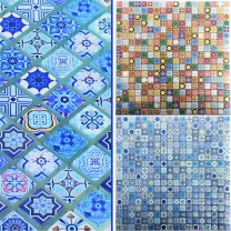 Glass Mosaic Tiles Marrakech