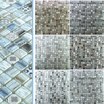 Glass Mosaic Wood Optic Tiles Vision