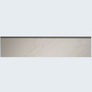 Skirting Aragon 8x30cm White Grey Polished