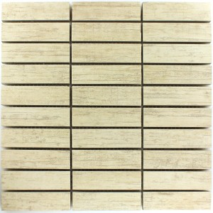 Mosaic Tiles Wood Optic Denver Beige 27x98x10mm