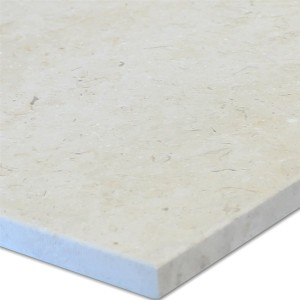 Marble Natural Stone Tiles 40x40cm Creme Brushed