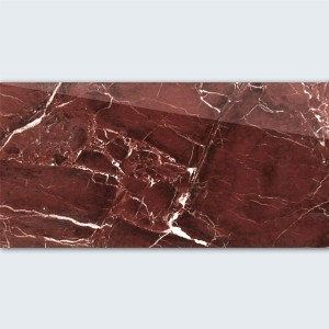 Floor Tiles Saturn Polished Rubin Red Marbled 30x60cm