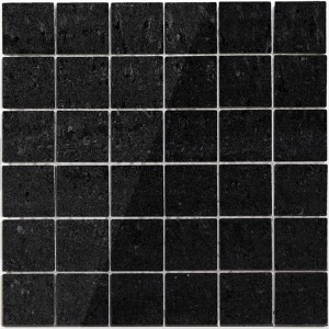 Mosaic Tiles Serie Nairobi Black Polished