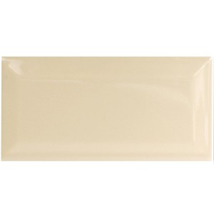 Metro Wall Tiles Alabastro Dark Beige Glossy Facet 7,5x15cm