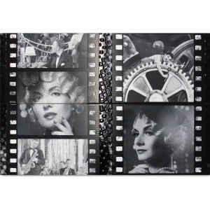Wall Tiles Decor Cinema Marilyn Monroe Charlie Chaplin