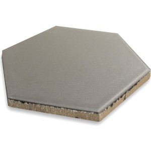 Floor Tiles Hexagon Angle Grey