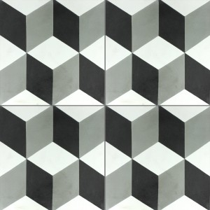 Cement Tiles Luton Anthracite