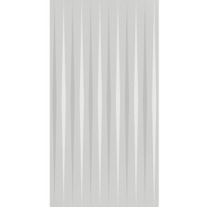 Wall Tiles Vulcano Stripes Decor Rectified Light Grey 60x120cm