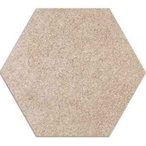 Cement Tiles Optic Hexagon Floor Tiles Atlanta Beige