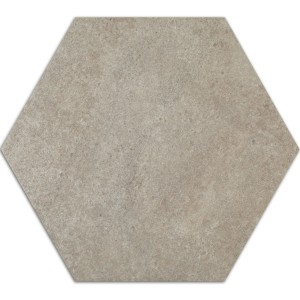 Cement Tiles Optic Hexagon Floor Tiles Atlanta Grey