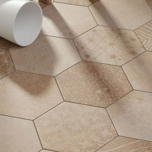 Cement Tiles Optic Hexagon Floor Tiles Atlanta