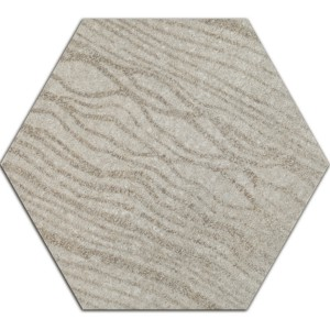 Cement Tiles Optic Decor Hexagon Atlanta Grey