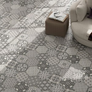 Cement Tiles Optic Hexagon Floor Tiles Alicante