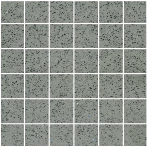 Mosaic Tiles Quartz Composite Grey