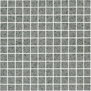 Mosaic Tiles Quartz Composite Grey 23
