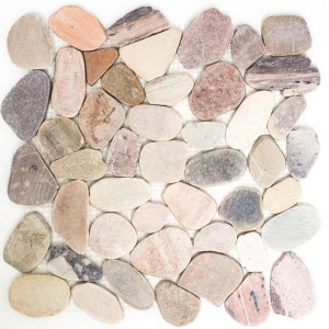 River Pebbles Mosaic Natural Stone Cut Kos