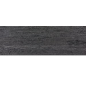 Wood Optic Floor Tiles Admiral Black 15x60cm