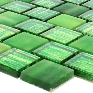 Glass Mosaic Lanzarote Green