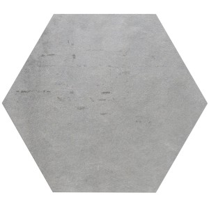 Floor Tiles Casablanca Hexagon Light Grey 52x60cm