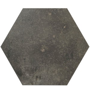 Floor Tiles Casablanca Hexagon Anthracite 52x60cm
