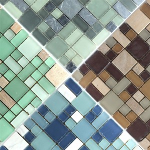 Mosaic Tiles Costa Glass Marble