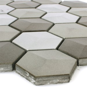 Mosaic Tiles Hexagon Kandilo Mud