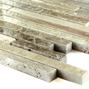 Mosaic Tiles Natural Stone Sanmarina Oak