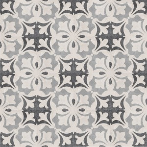 SAMPLE Cement Tiles Retro Optic Gris Floor Tiles Miro 18,6x18,6cm