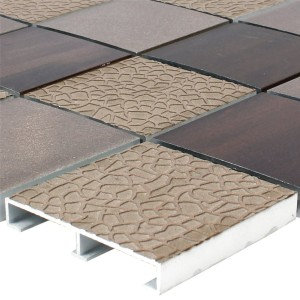 Mosaic Tiles Aluminium Ayolas Brown
