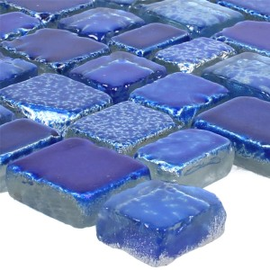 Mosaic Tiles Glass Roxy Blue