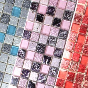 Glass Natural Stone Mosaic Mix Colicos