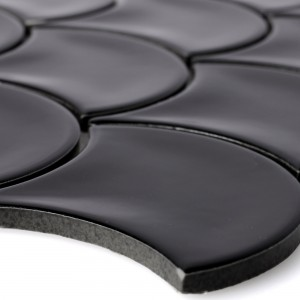Ceramic Mosaic Tiles Madison Black
