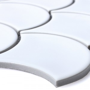 Ceramic Mosaic Tiles Madison White