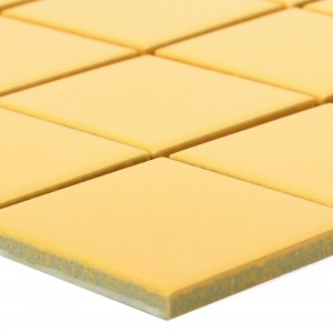 Ceramic Mosaic Topsail Yellow Uni 48