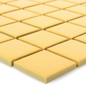 Ceramic Mosaic Topsail Yellow Uni 25