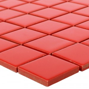 Ceramic Mosaic Topsail Red Uni 25
